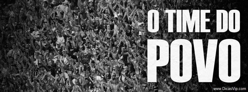 Capa Corinthians Time do Povo
