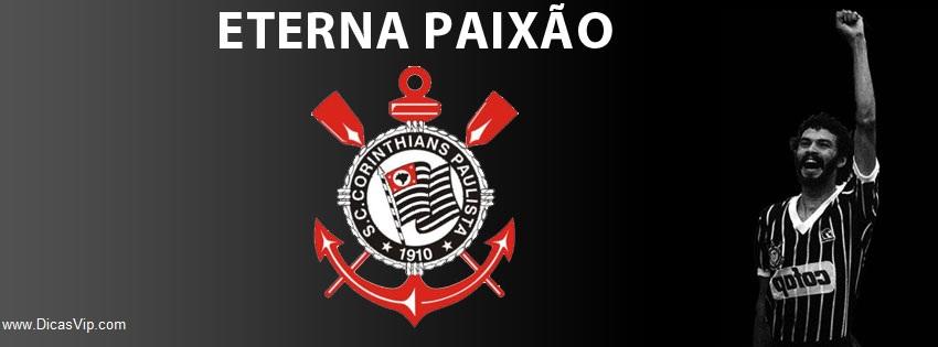 Capa de linha do tempo do Corinthians