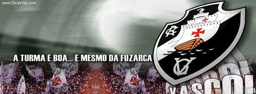 Capa pra Facebook do Vasco Capas para Facebook do Vasco