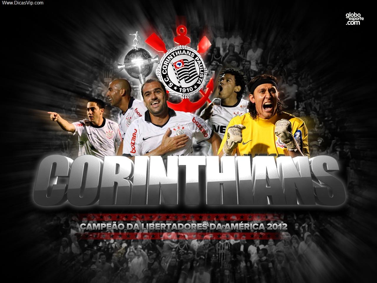 Papel de parede Corinthians campeão da libertadores 2012