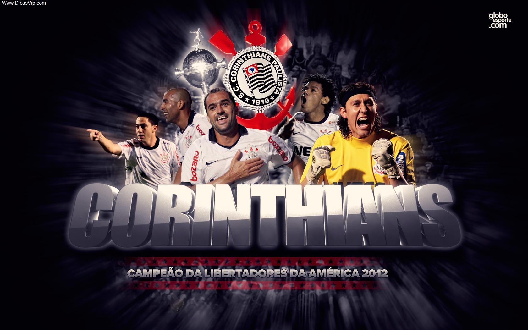 Wallpaper Corinthians campeão da libertadores 2012