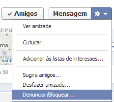 Como bloquear uma pessoa no Facebook