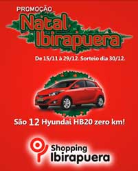PROMOÇÃO SHOPPING IBIRAPUERA - WWW.IBIRAPUERA.COM.BR