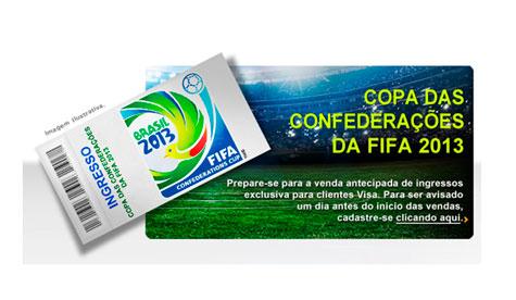COPA DAS CONFERACOES 2013 VISA