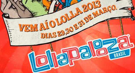 LOLLAPALOOZA BRASIL SP 2013 - 29 A 31 DE MARCO