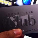 CARTAO ROCK IN RIO CLUB