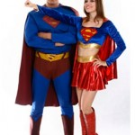 FANTASIA DO SUPER MAN E DA SUPER GIRL