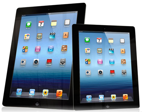 AS DIFERENCA ENTRE IPAD E IPAD MINI