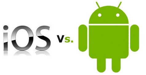 AS DIFERENCAS DO SISTEMA ANDROID E IOS