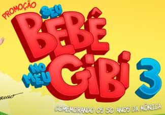 WWW.SEUBEBENOMEUGIBI.COM.BR - PROMOÇÃO SEU BEBÊ NO MEU GIBI 3 FRALDAS TURMA DA MÔNICA 2013