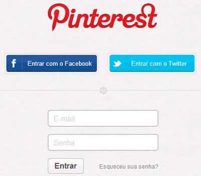 COMO CONECTAR O PERFIL DO PINTEREST COM O DO FACEBOOK