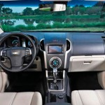 INTERIOR DO CHEVROLET TRAILBLAZER 2014