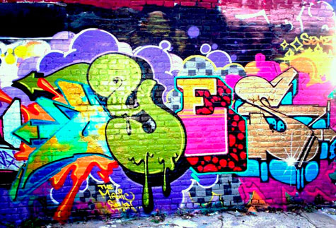 COMO FAZER GRAFFITI