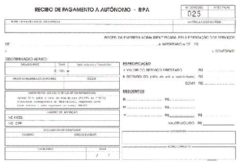 COMO EMITIR RECIBO DE PESSOA FISICA
