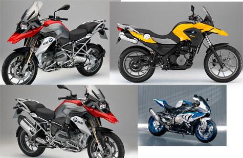 MODELOS DE MOTOS BMW 2013