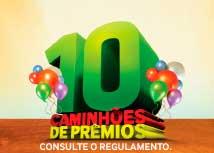 PROMOÇÃO 10 CAMINHÕES DE PRÊMIOS LOJAS QUERO-QUERO