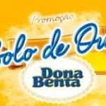 WWW.BOLODEOURODONABENTA.COM.BR - PROMOÇÃO BOLO DE OURO DONA BENTA