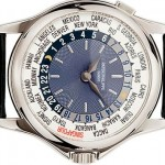 PETEK PHILIPES PLATINUM WORLD TIME