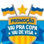 WWW.VISA.COM.BR/VAIDEVISA - PROMOÇÃO VAI PRA COPA VAI DE VISA