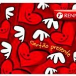 CARTAO PRESENTE RECARREGAVEL RENNER