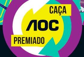 WWW.AOCPREMIADO.COM.BR - PROMOÇÃO CAÇA AOC PREMIADO