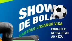 WWW.SHOWDEBOLALOSANGO.COM.BR - PROMOÇÃO SHOW DE BOLA CARTÕES LOSANGO VISA