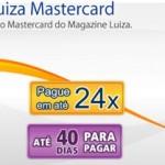 Cartão Magazine Luiza 2º via