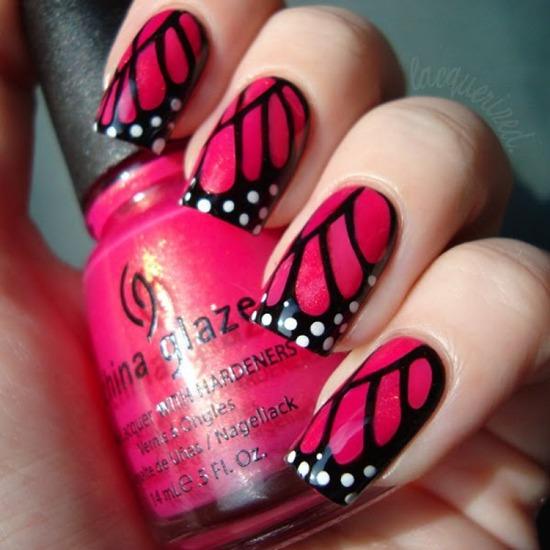 Unhas borboleta